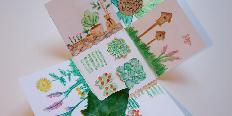 Atelier Arts Plastiques // Mon jardin secret