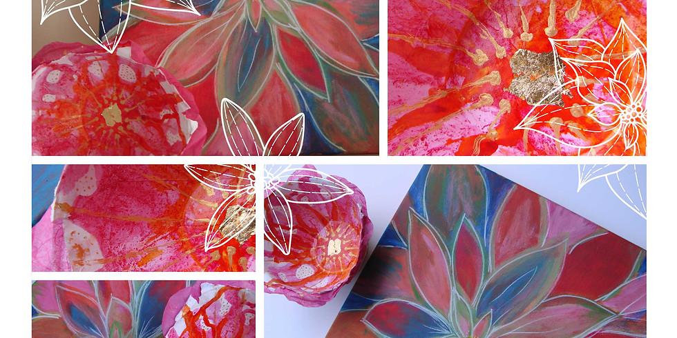 Stage vacances Eté // L'art et la couleur / La couleur des fleurs