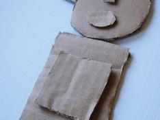 Découpage et collage carton