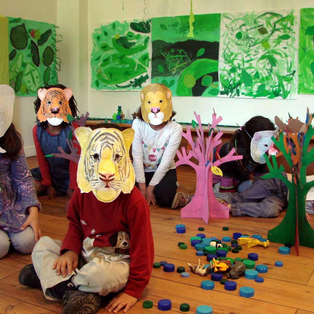 A nous la forêt / Arts Plastiques // stage vacances d'automne 2014