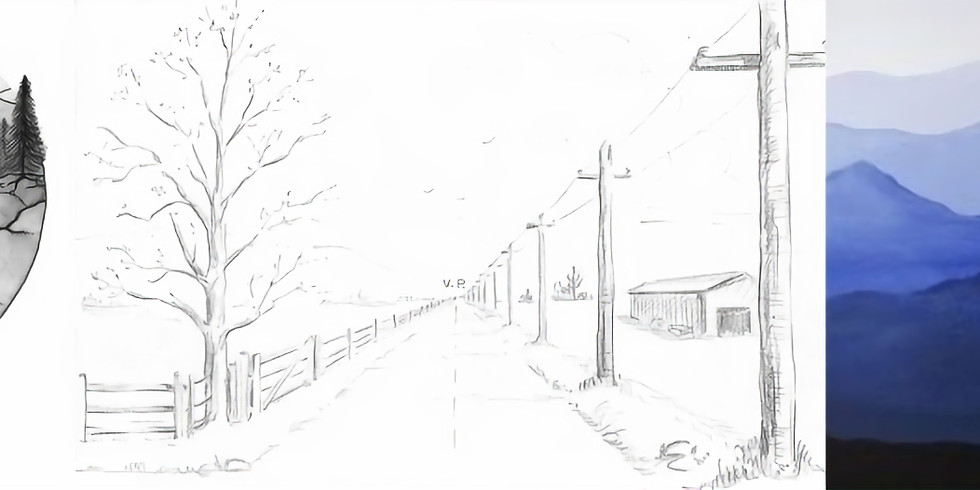 Atelier dessin 07 // Perspective & paysage