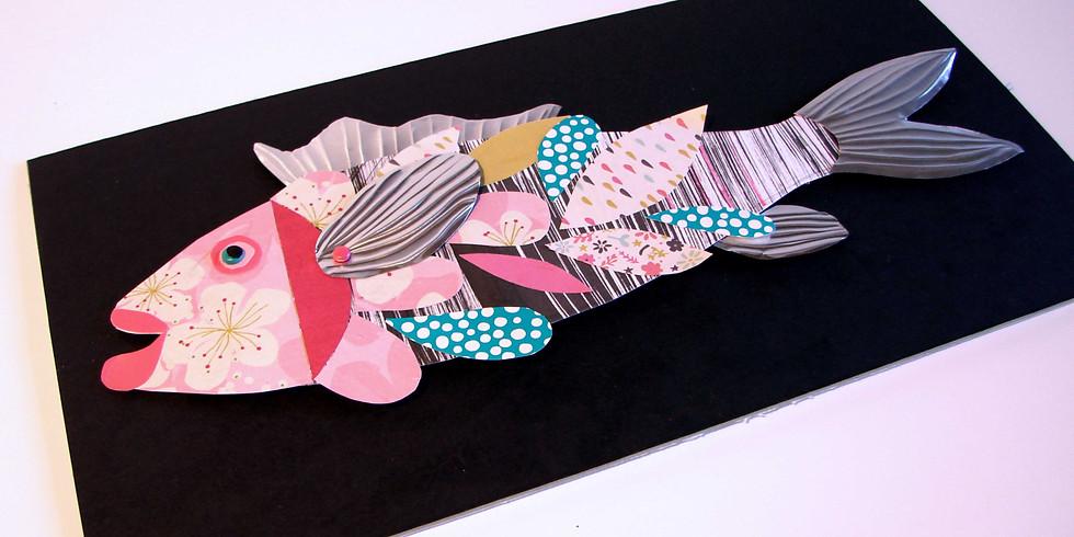 Atelier Arts Plastiques // Collage & assemblage