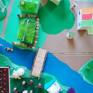Green City / architecture // stage vacances d'automne 2014