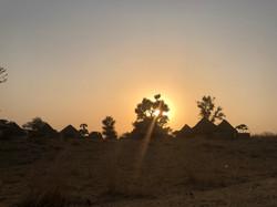 Sunset Senegal Village