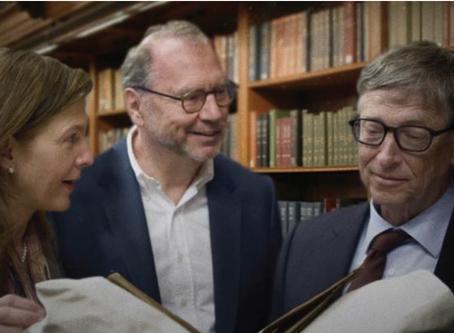 Bill Gates praises our co-director Prof. Peter Piot