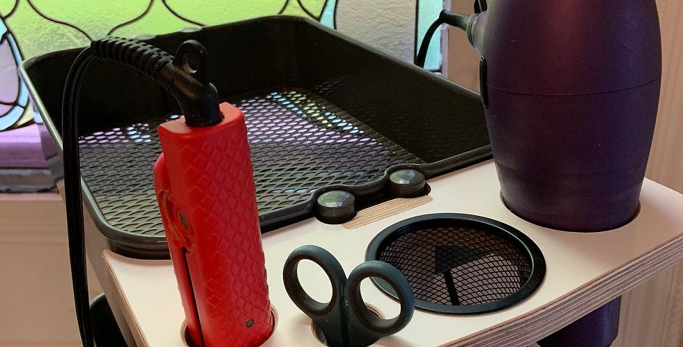 Salon Appliance Holder - Ikea Raskog Cart for Stylists