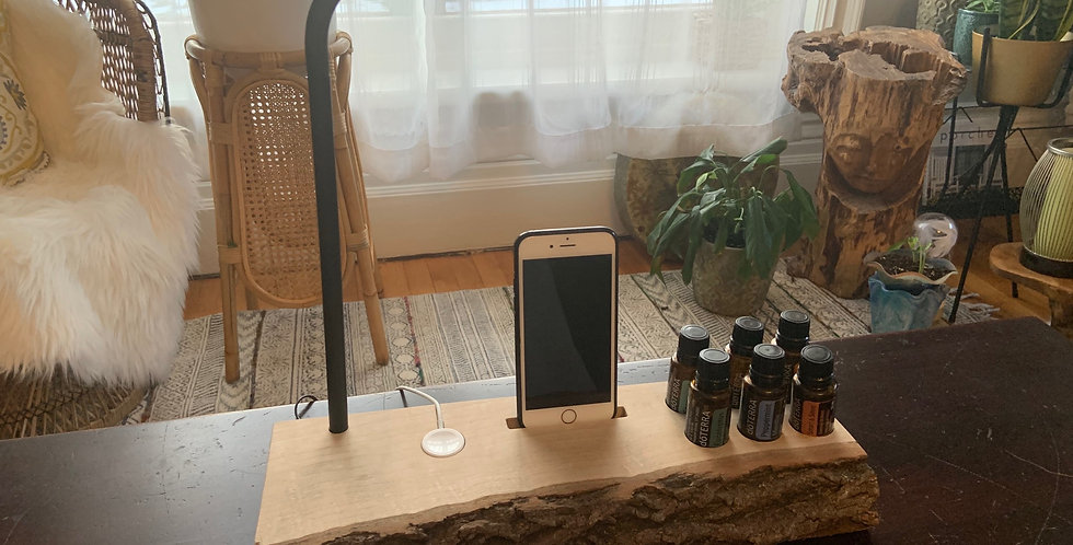 LiveEdge Lamp + Apple Watch/Phone & Essential Oil Holder