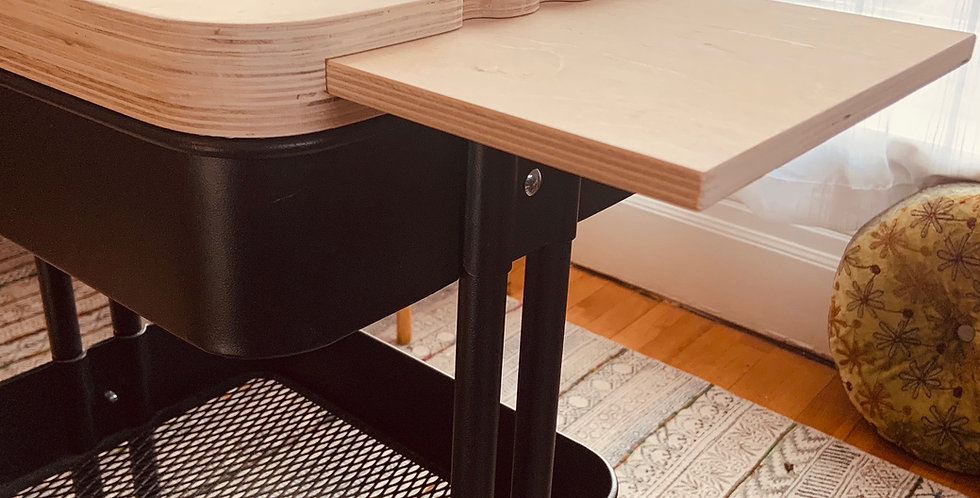 Pull-Open Topper - For The Ikea Raskog Cart
