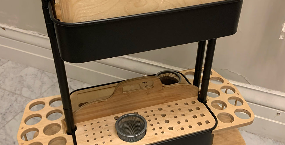 Cricut Roll & Tool Holder - for the Ikea Raskog Cart