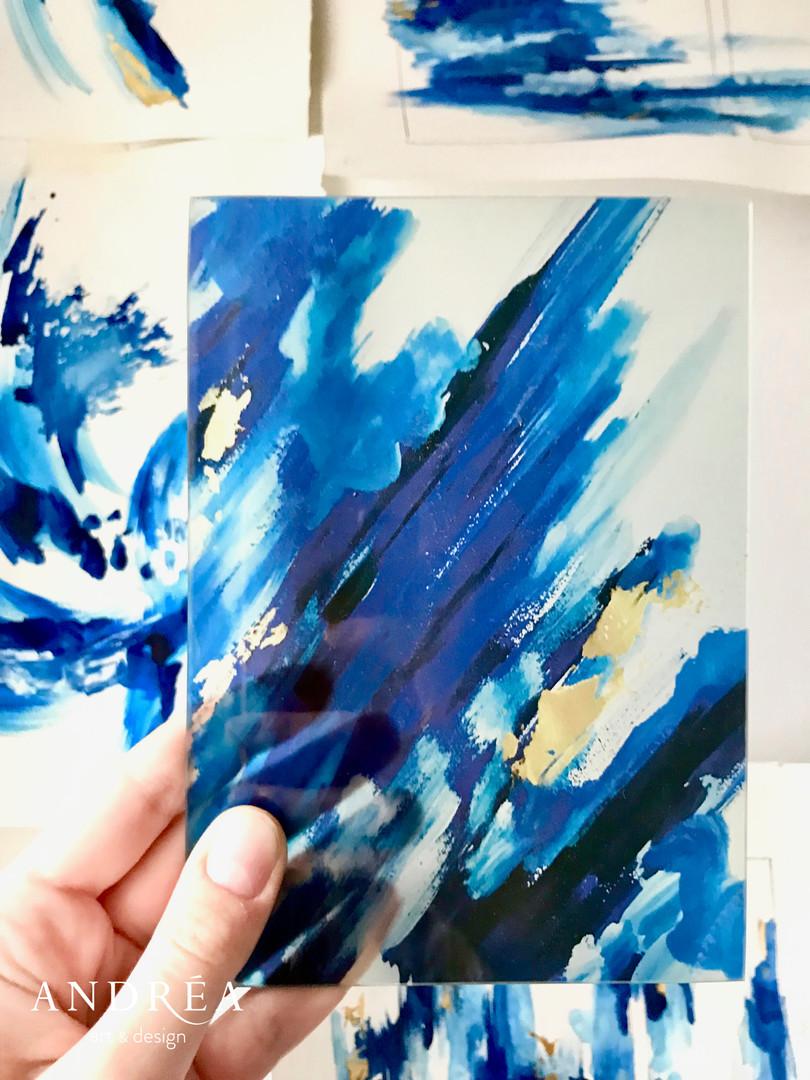Bientôt disponible, art sur verre !