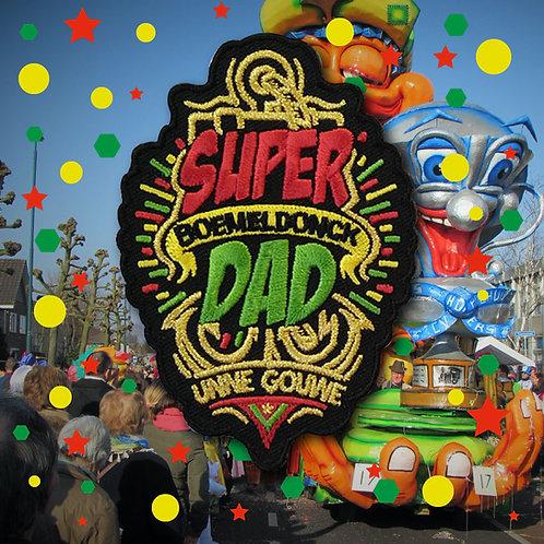 Embleem Super Dad Boemeldonck