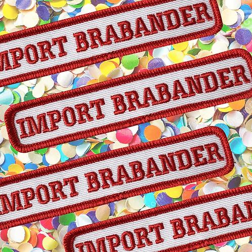 Embleem Import Brabander