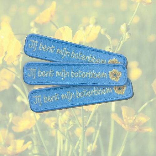 Embleem Jij bent mijn boterbloem