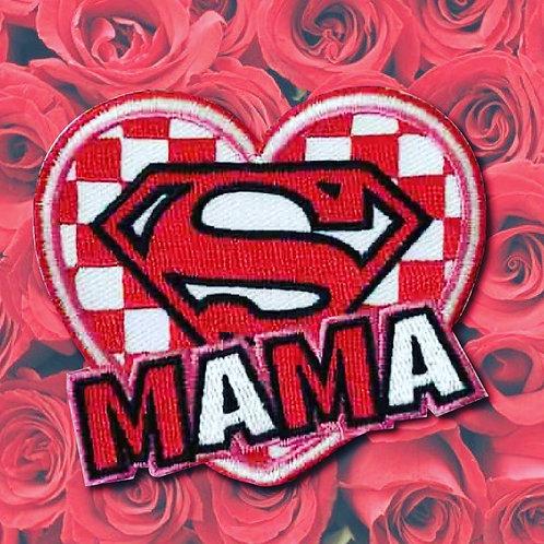 Embleem Super Mama Brabant