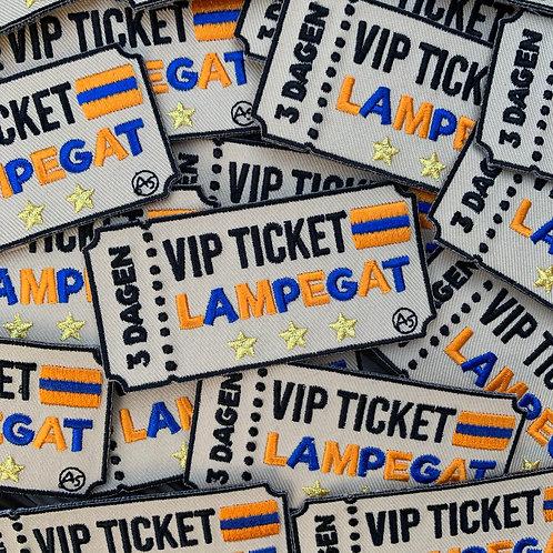 Embleem VIP ticket Lampegat