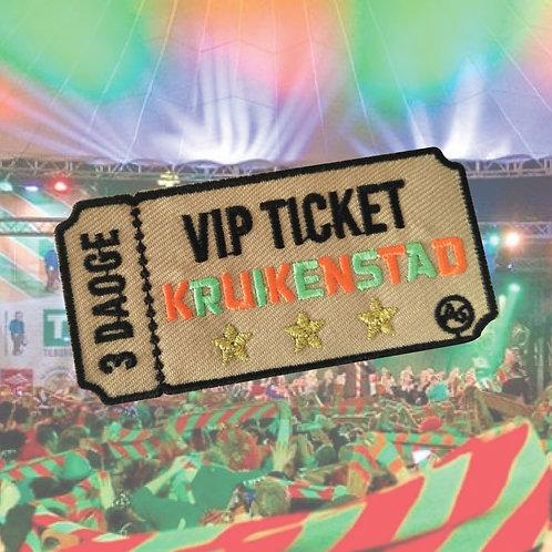 Embleem VIP ticket Kruikenstad
