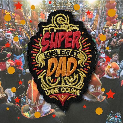 Embleem Super Dad Kielegat