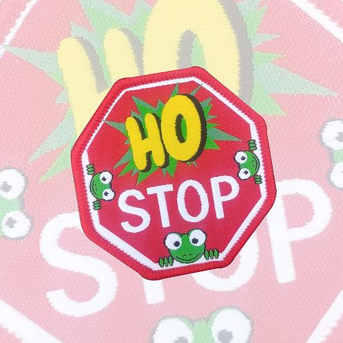 Embleem Ho STOP