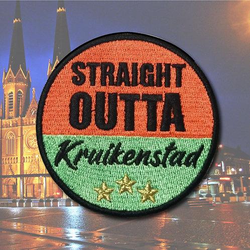 Embleem Straight Outta Kruikenstad