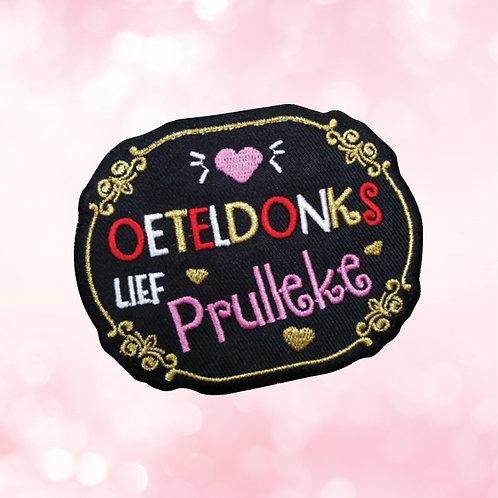 Embleem Oeteldonks PRULLEKE