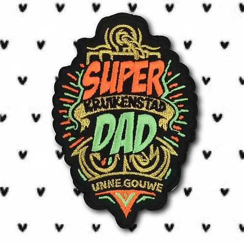 Embleem Super Dad Kruikenstad