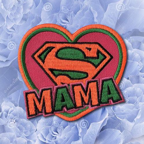 Embleem Super Mama Kruikenstad