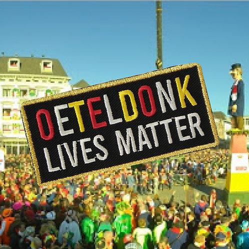Embleem Oeteldonk lives matter