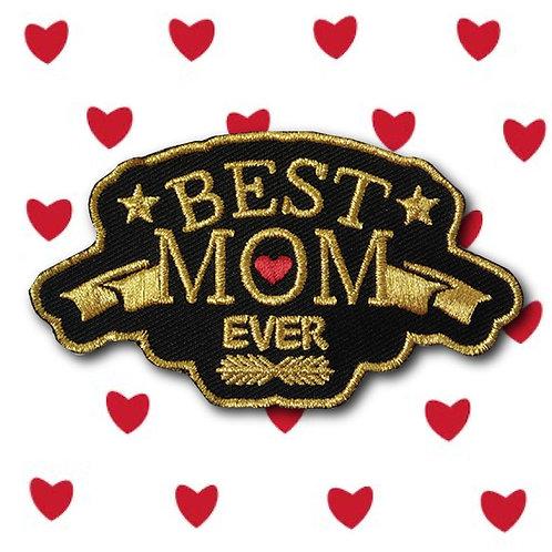 Embleem Best MOM ever