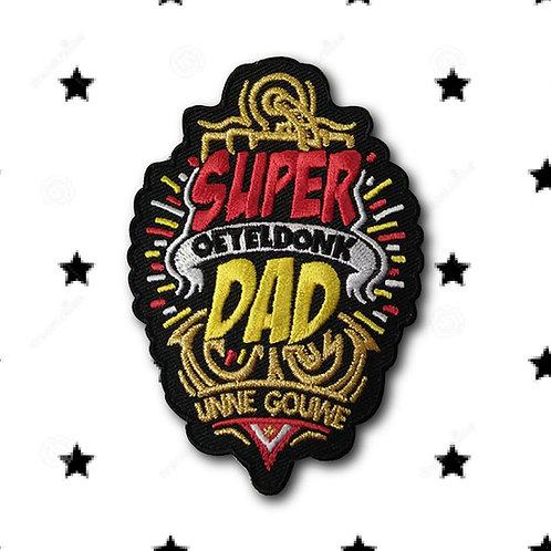 Embleem Super Dad Oeteldonk