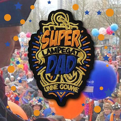 Embleem Super Dad Lampegat