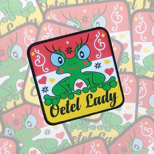 Embleem Oetel Lady