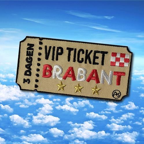 Embleem VIP ticket Brabant