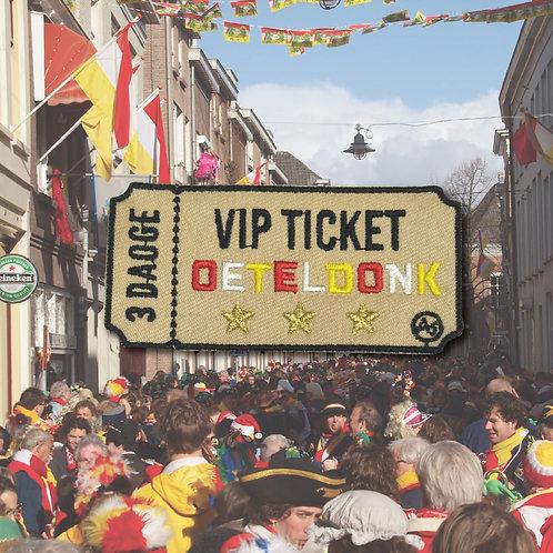 Embleem VIP ticket OETELDONK