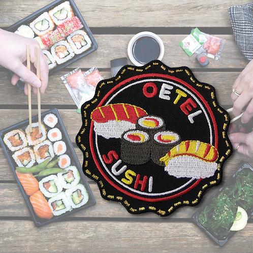 Embleem Oetel Sushi
