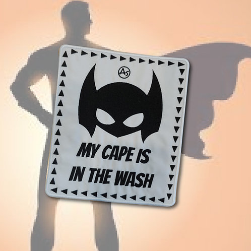 Embleem My cape is in the wash