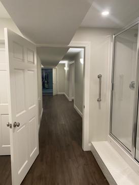New full basement bathroom!