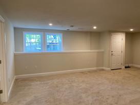 New basement remodel