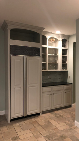 Kitchen Makeover - Cabinet painting