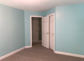 Color change to the walls and trim!