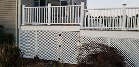 Beautiful new composite deck