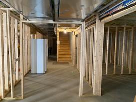 Full basement remodel - Framing