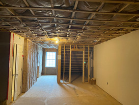 New framing and insulation