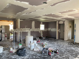House renovation in process