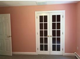 Beautiful new painted walls