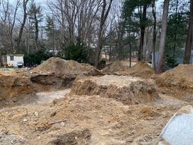 Site work for new foundation!