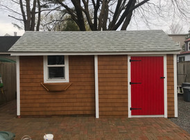 Shed transformation - New stain & paint!