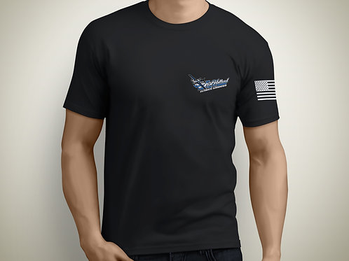 Official Rob Holland Ultimate Airshows Logo Tee