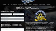 Nomination now open for Hero Flight 2017