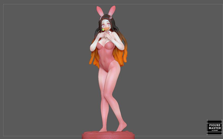 NEZUKO BUNNY demon slayer kimetsu no yaiba ANIME GIRL CUTE CHARACTER