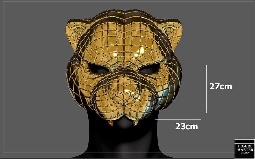 SQUID GAME TIGER VIP MASK LIFE SIZE COSPLAY PROPS REPLICA NETFLIX 3D PRINT